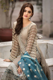 Designer Chiffon Outfit for Women Close Up