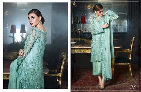 Designer Dress by Honey Waqar | Threads, Sequence & Embroidery