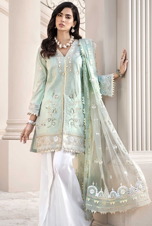 Designer Luxury Lawn Dress for Eid
