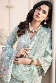 Designer Luxury Lawn Dress for Eid Close Up