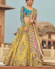 Reception Bridal lehenga
