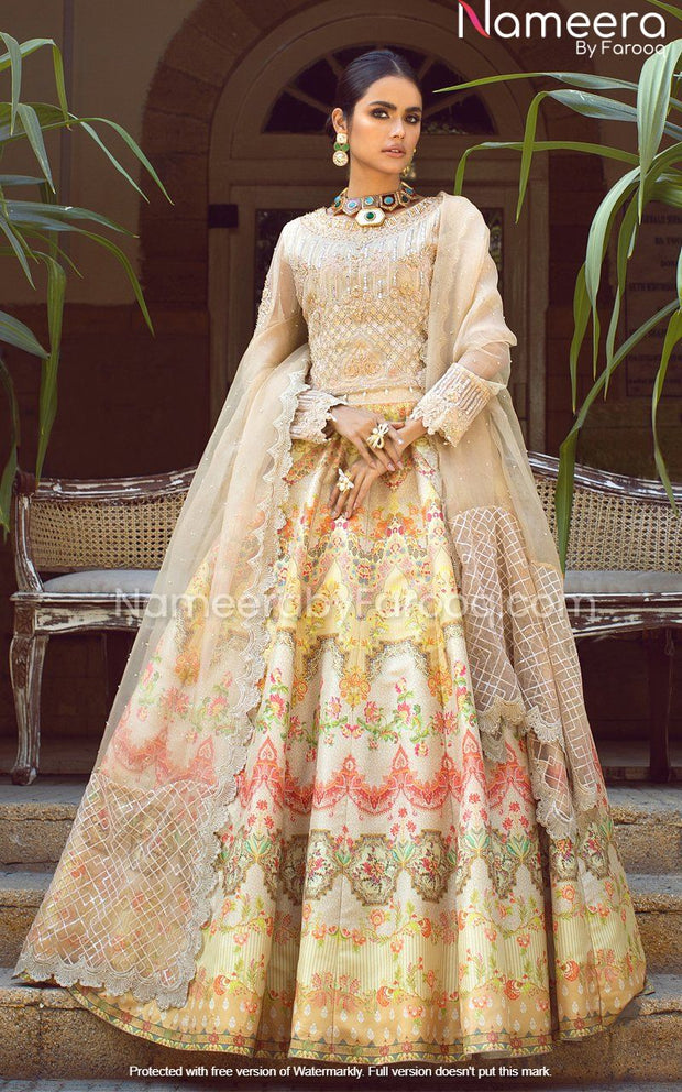 Elegant White Lehenga Choli for Wedding Party