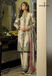 Elegant Designer Lawn Dress