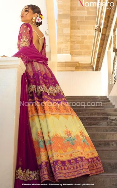 Embroidered Choli and Lehenga for Wedding Party