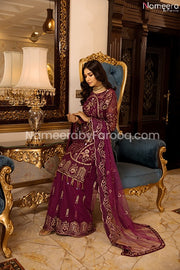 Embroidered salwar pakistani