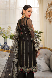 Pakistani Eid Dress In Elegant Black 2