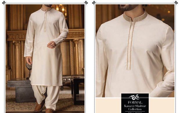 Gents Formal Light Color Shalwar Kameez