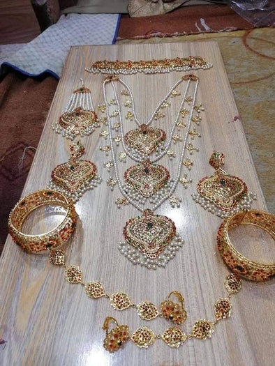 Gold Plated Rani Haar for Bride