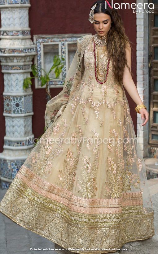 Golden Dress for Wedding Party Online