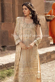 golden party dresses pakistani