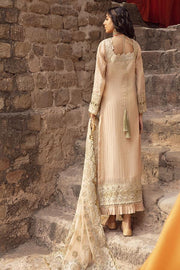 Golden Maxi Dress Pakistani