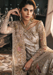 Close View of Bridal Gharara