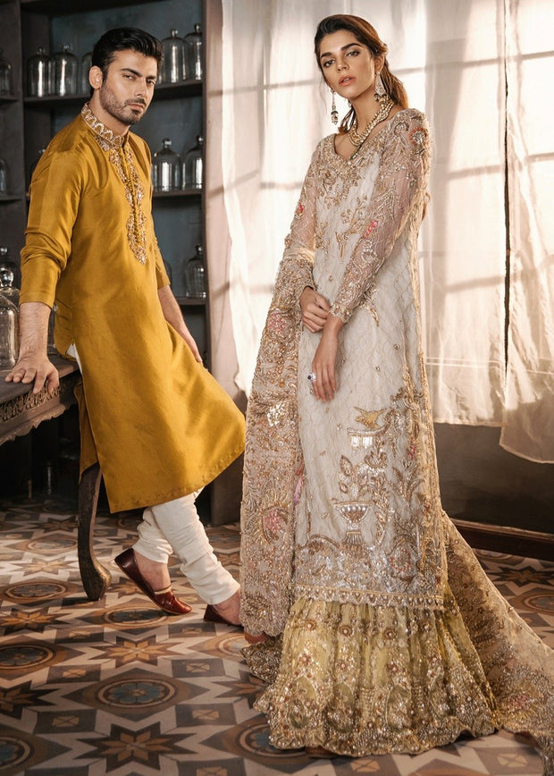 Pakistani Online Gharara for bridal wear