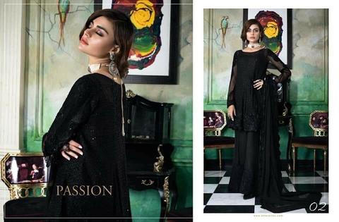 Kurta Shirt Dress Honey Waqar | Dhaga Embroidery & Sequence