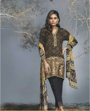 Beutifull winter dress by ethnic with woolen shawl Model#W 894