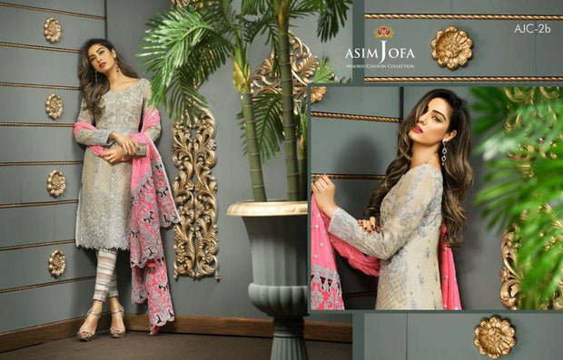 Eid dresses 2017 Lawn dress by asim jofa Model#Eid 265