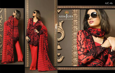 Eid dresses 2017 by asim jofa My Model# Eid 280