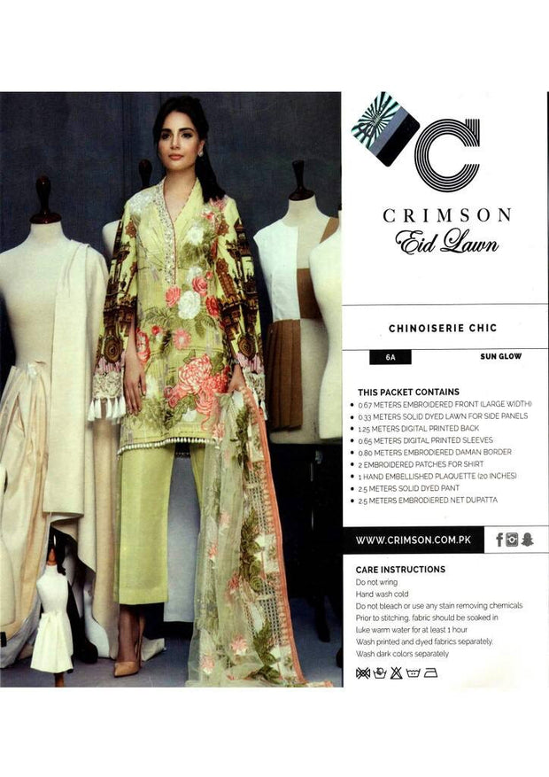 Eid dresses 2017 lawn dress by crimson Model#Eid 276