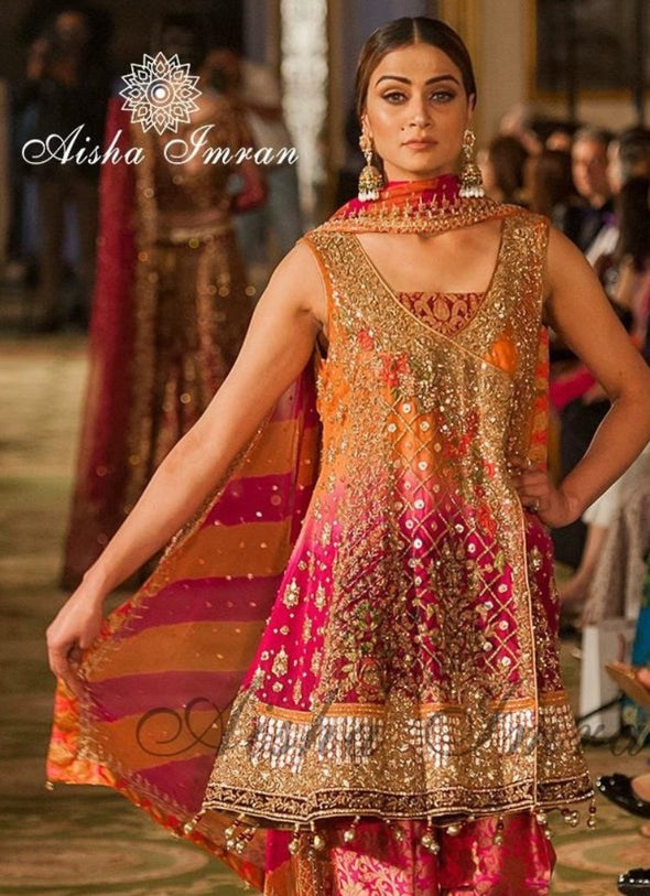 Beautiful Party Mehndi Dress Model # B394