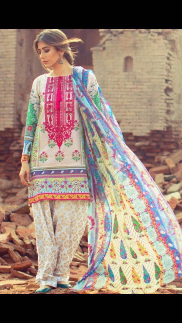 Lawn dress by zara shah jahan model# L 73