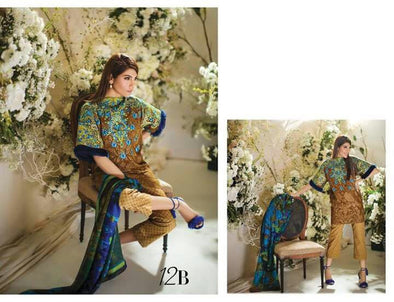 Lawn dress by sana safinaz Model# L 77