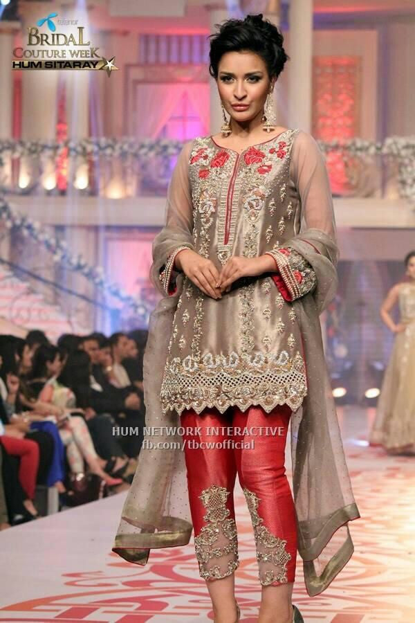 Chiffon dress by zainab chotani Model#C 66
