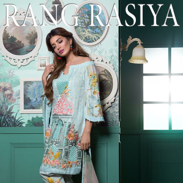 Beautiful linen dress by rang rasiya Model #710W