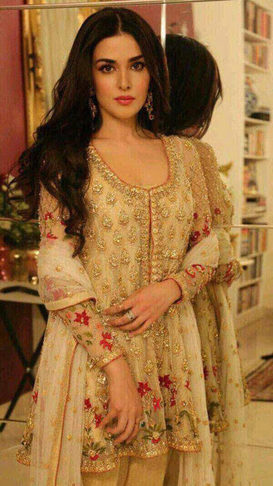 Zainab Chotani Designer Dress Chiffon   Model # C 829