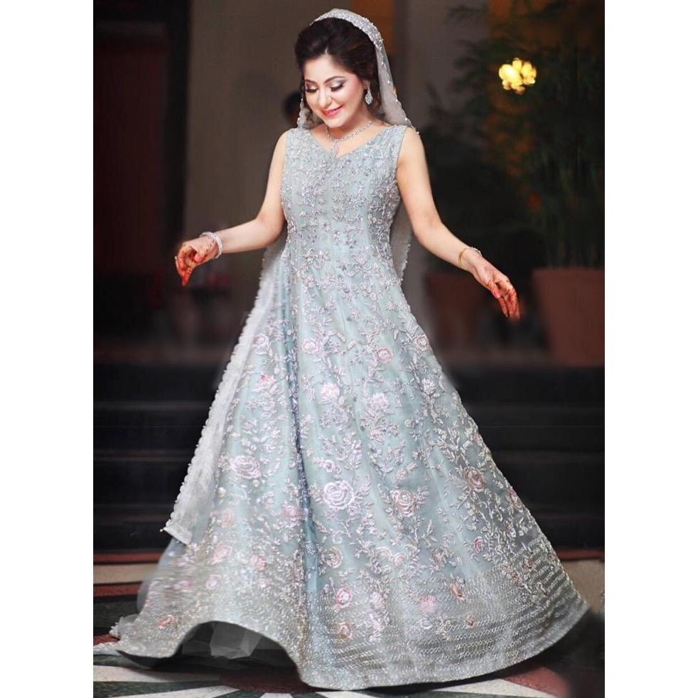 Buy Online Pakistani Bridal Maxi For Reception Nameera By Farooq,Occasion Dresses For Wedding Guests John Lewis