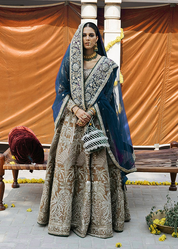 Indian Bridal Choli Lehnga for Wedding Complete Look
