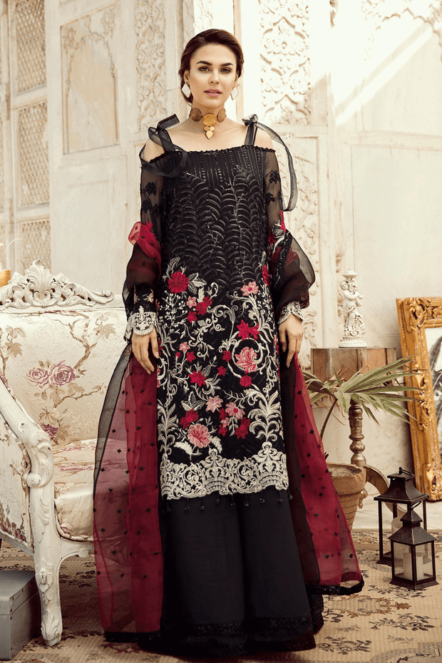 Indian Dress for party in Black Color