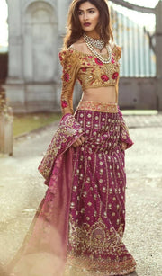 Latest Royal Bridal Ghagra Choli 2