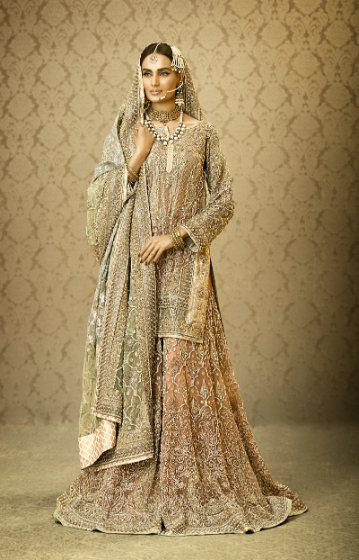 Latest  Indian Wedding Dress for Bride