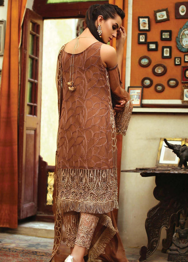 Indian chiffon dress for formal wear