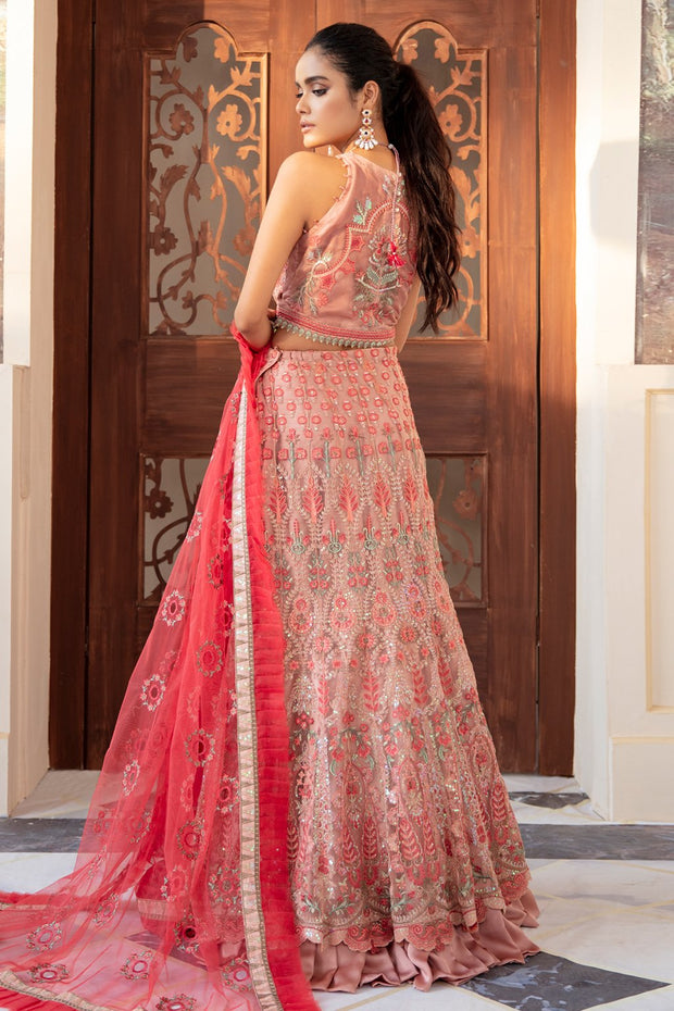 Iznik Lehnga Choli with Embroidery