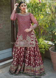 Jamawar Lehenga Kameez for Wedding Party Wear