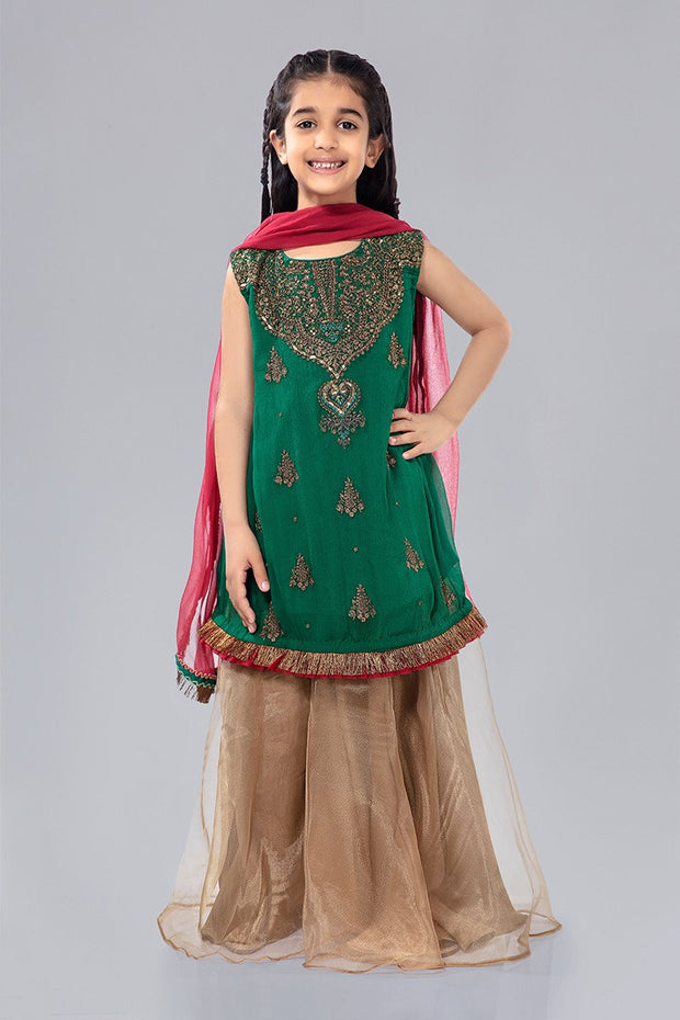 Kids Gharara Dress for Eid