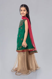 Kids Gharara Dress for Eid Over All Look