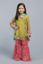 Kids Eid Frock with Gharara in Elegant Design