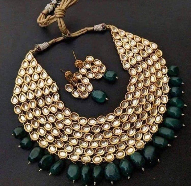 Kundan Choker Heavy Necklace For Bride
