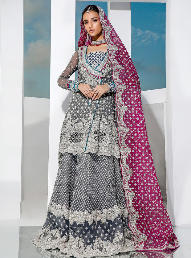 Latest Bridal Peplum Lehnga
