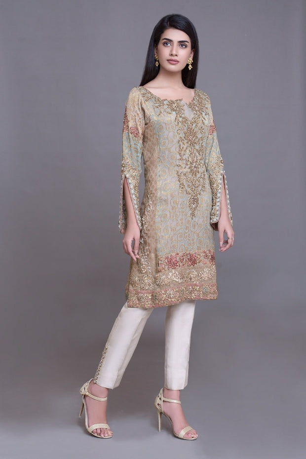 Latest Chiffon Suit for Wedding Party