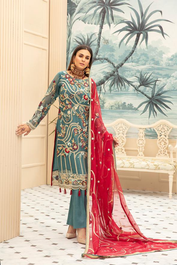 Latest Designer Chiffon Wear for Eid Overall Look