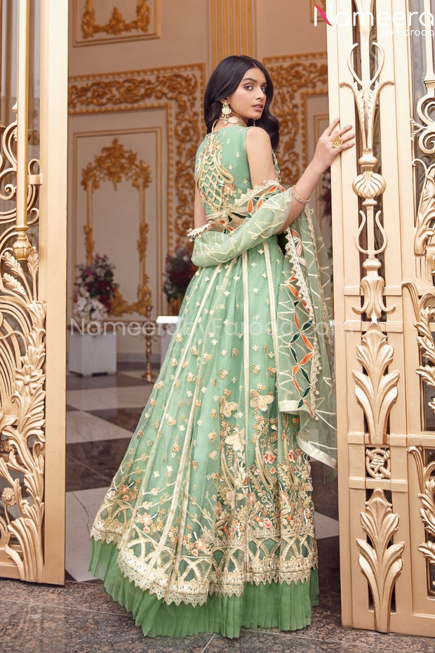 Latest Maxi Dress Pakistani for Wedding Party
