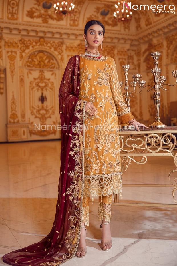 Latest Pakistani Chiffon Collection for Party