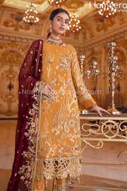 Latest Pakistani Chiffon Collection for Party Online Embroidery