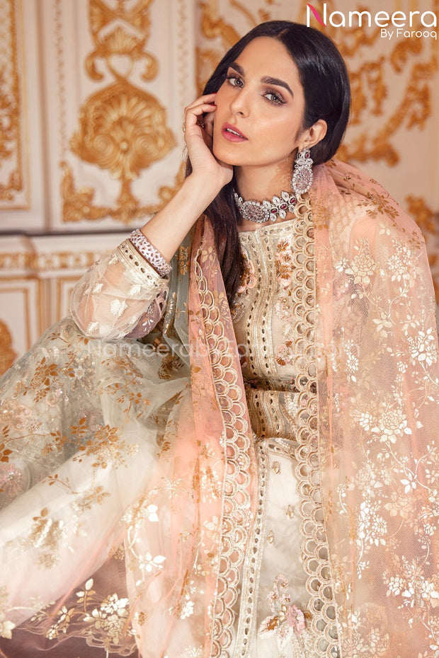 Latest Pakistani Dress Online for Wedding Front Look