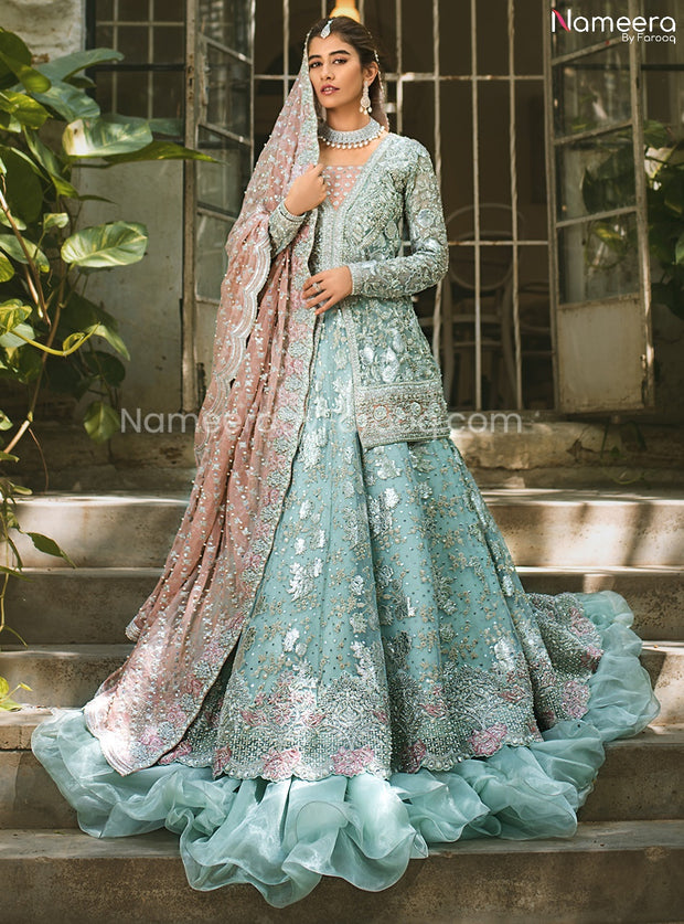 Latest Pakistani Lehenga Design for Walima 2021