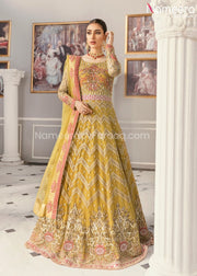 Latest Pakistani Maxi Dress for Wedding Party