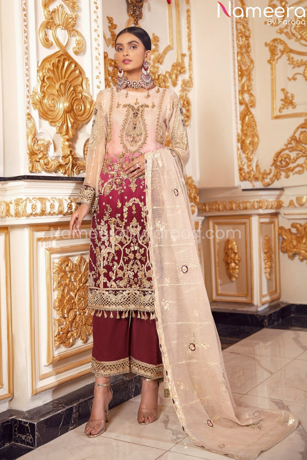Latest Pakistani Party Wear Dress for Girls 2021